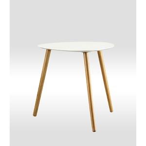 Oslo White End Table