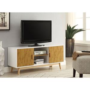 Oslo White TV Stand