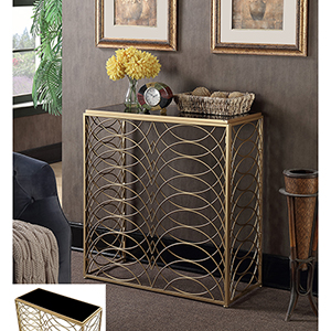 Gold Coast Gold Tranquility Console Table