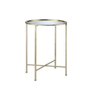 Gold Coast Gold End Table