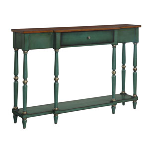 Wyoming Green Console Table