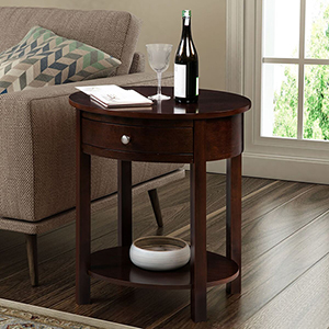 Classic Accents Espresso Cypress End Table
