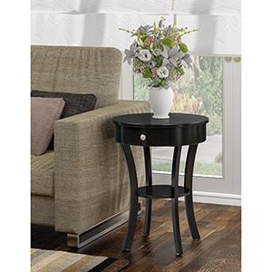 Classic Accents Black Schaffer End Table