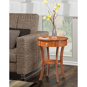 Classic Accents Walnut Schaffer End Table