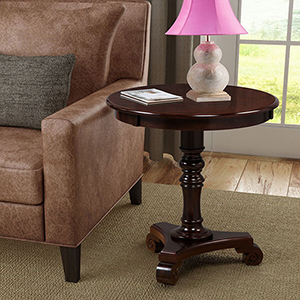 Classic Accents Espresso Talbot End Table