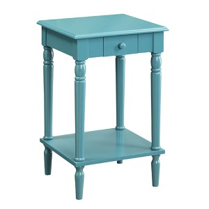 French Country Blue Side and End Table