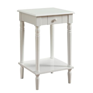 French Country White Side and End Table