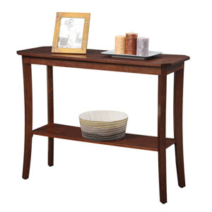 Designs2Go Mahogany Console Table