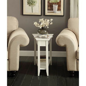 American Heritage Wedge End Table