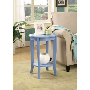 American Heritage Blue Round Table