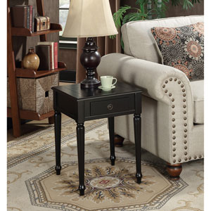 Nottingham Black End Table