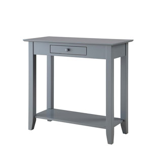 American Heritage Hall Table with Drawer and Shelf