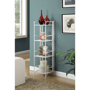 4 Tier Folding Metal Shelf