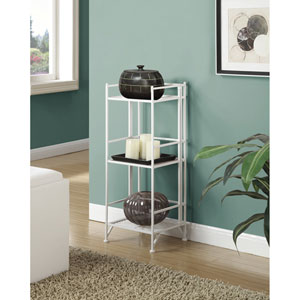 3 Tier Folding Metal Shelf