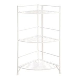 3 Tier Corner Folding Metal Corner Shelf