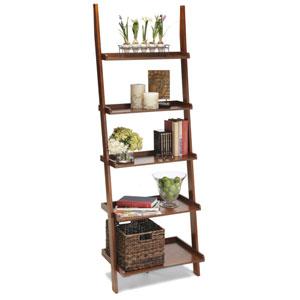 American Heritage Cherry Bookshelf Ladder