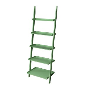 French Country Green Bookshelf Ladder