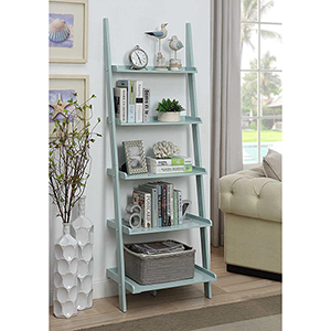 American Heritage Sea Foam Bookshelf Ladder