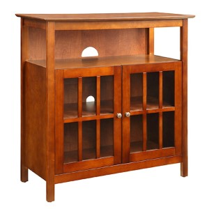 Big Sur Cherry Highboy TV Stand