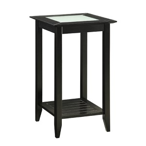 Carmel Black Side and End Table