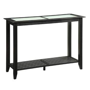 Carmel Black Console Table