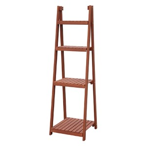 Red Cedar Four-Tier Plant Stand