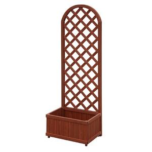 Red Cedar Garden Planter Box