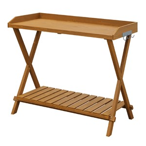 Light Oak Garden Potting Bench
