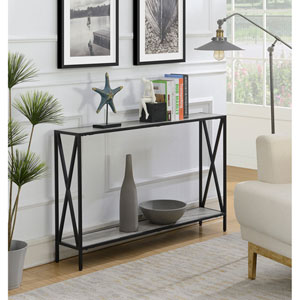 Tucson Console Table in Faux Birch