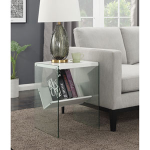 SoHo End Table in White
