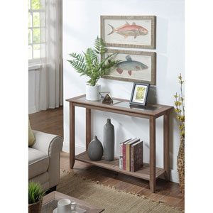 Carmel Console Table in Driftwood