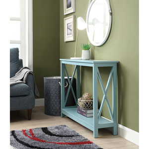 Oxford Console Table in Sea Foam