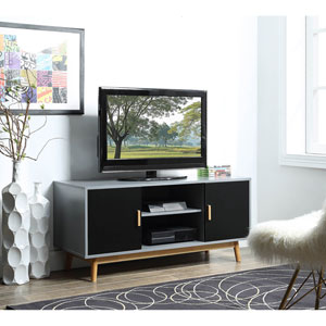 Oslo TV Stand in Gray