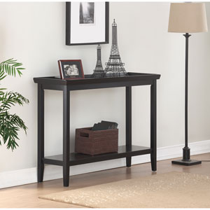 Ledgewood Black Console Table