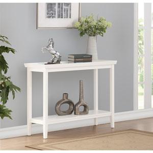 Ledgewood White Console Table
