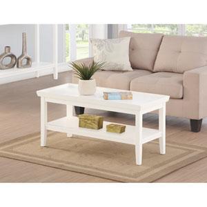 Ledgewood White Coffee Table