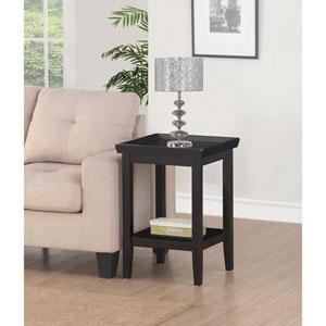 Ledgewood Black End Table