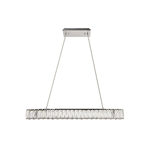 Monroe Chrome Seven-Inch LED Chandelier