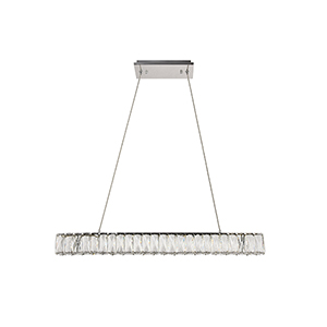 Monroe Chrome 31-Inch LED Chandelier