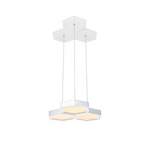 Hampton Chrome 13-Inch LED Pendant
