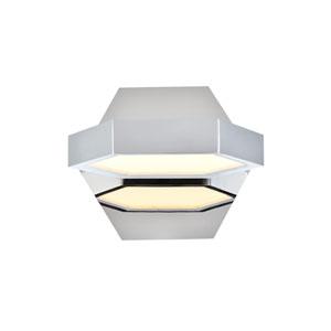Hampton Chrome 7-Inch LED Bath Vanity