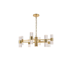 Vega Gold 17-Light LED Pendant