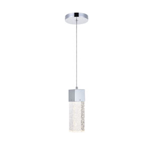 Nova Stella Chrome 5-Inch LED Mini Pendant