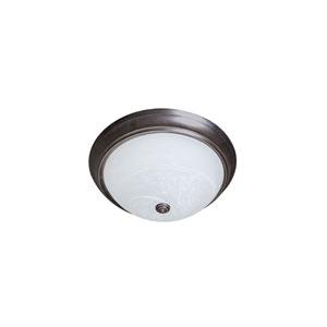 Ripple Bronze 11-Inch LED Flush Mount
