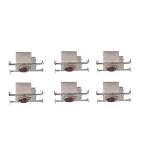 Housing Aluminum Eight-Inch Non-Insulated Contact Housing, Pack of Six