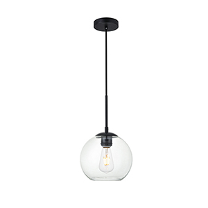 Baxter Black Seven-Inch One-Light Mini Pendant