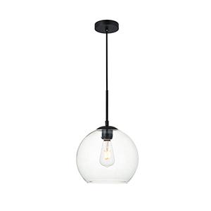 Baxter Black Nine-Inch One-Light Mini Pendant