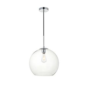 Baxter Chrome 13-Inch One-Light Pendant