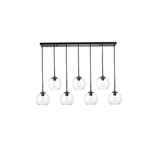 Baxter Black Seven-Light Mini Pendant