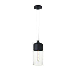 Ashwell Black Five-Inch One-Light Mini Pendant